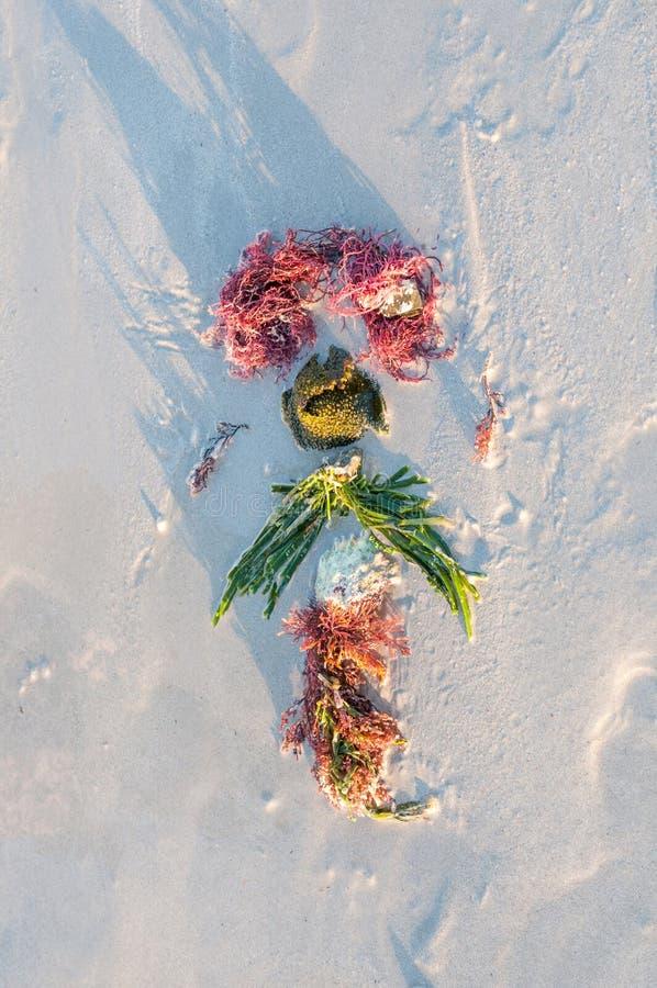 Download Kunstwerk op een strand stock afbeelding. Afbeelding bestaande uit kaap - 54084025