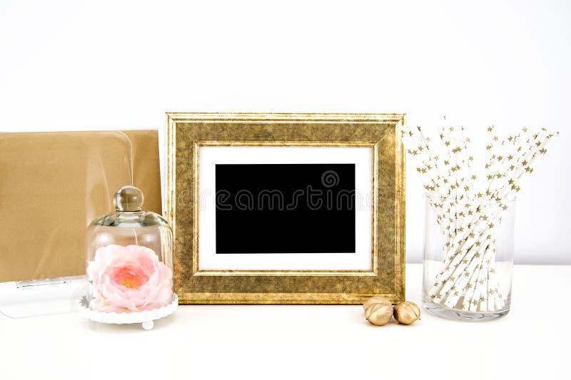 Kunstwerkmodel voor drukken stock fotografie