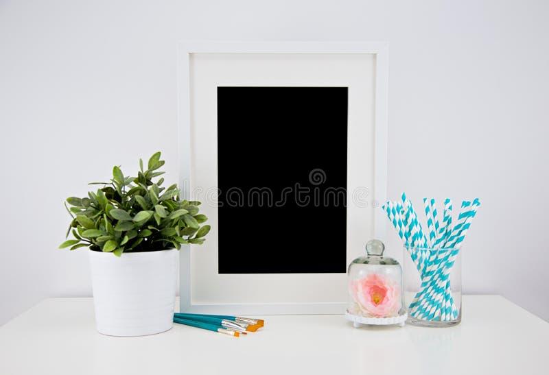 Kunstwerkmodel voor drukken royalty-vrije stock afbeelding