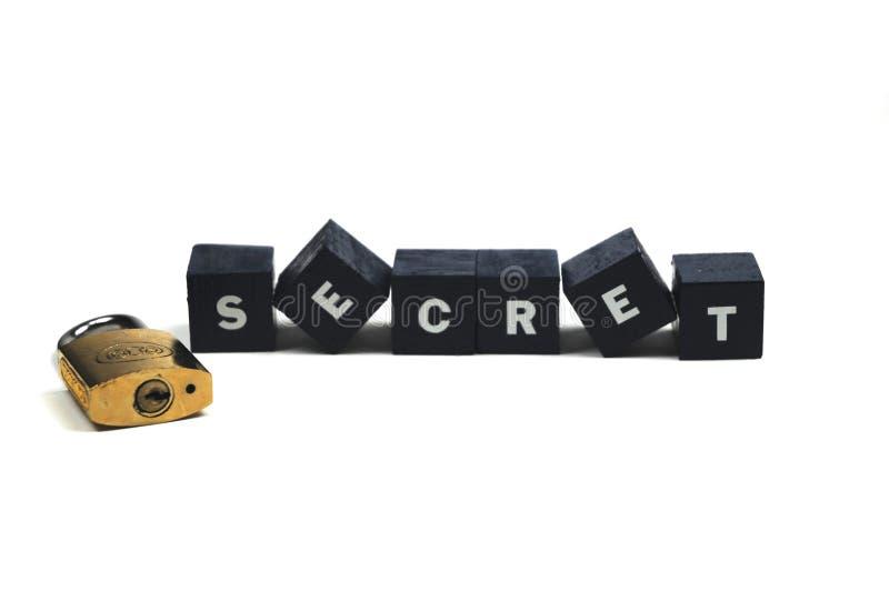Kunt u een geheim houden? stock foto's