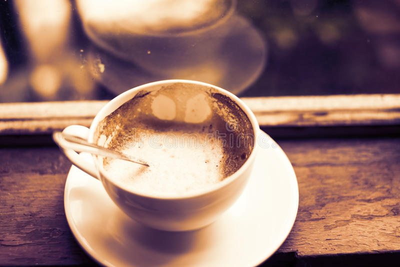 Kupa av cappuccino royaltyfri fotografi
