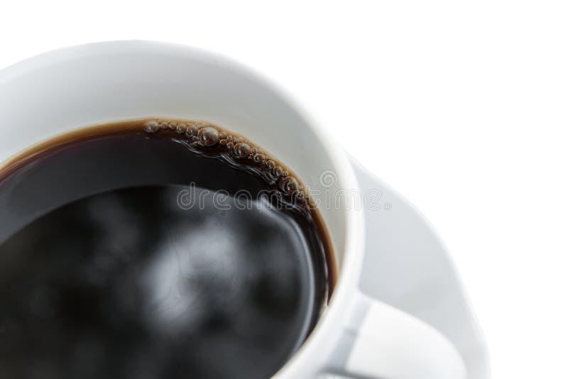 Kupa av isolerat kaffe royaltyfri bild