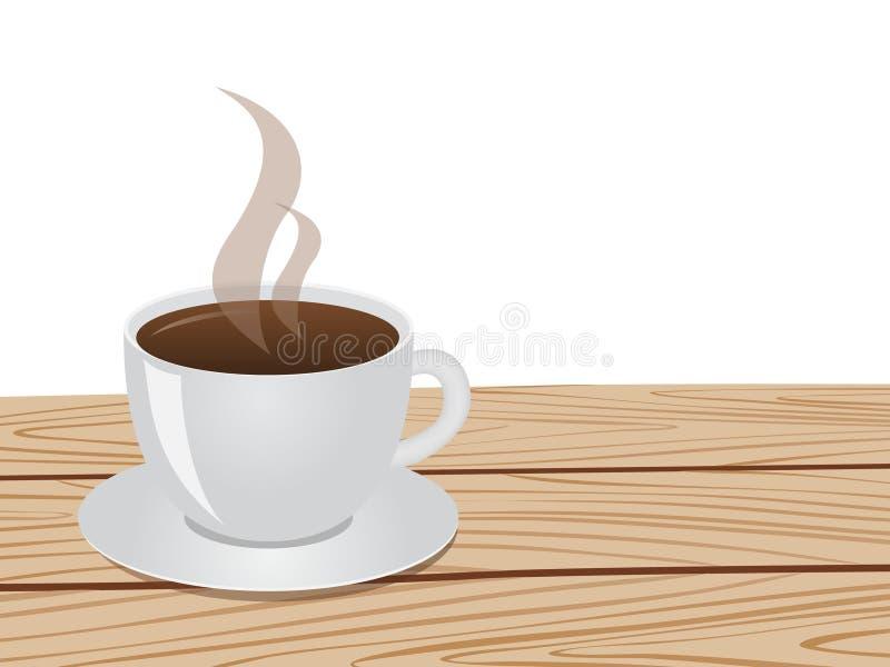 Kupa av kaffe royaltyfri illustrationer