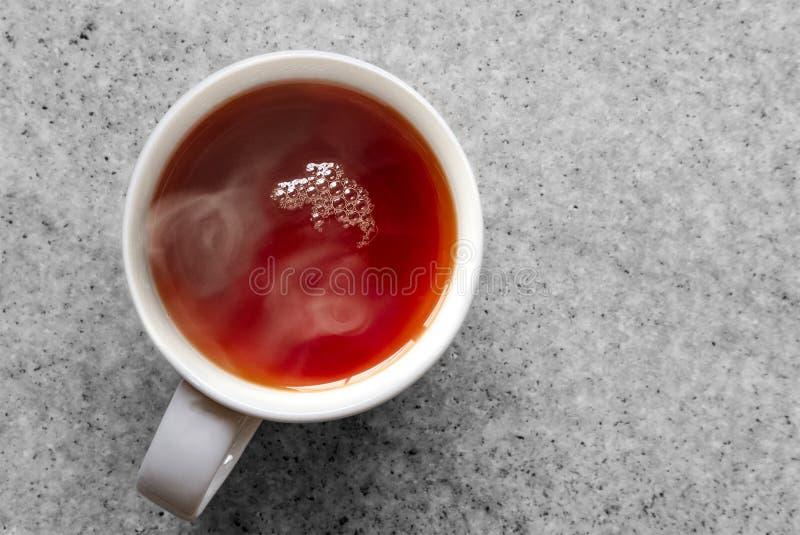 Kupa gorącej herbaty rooibos obrazy royalty free