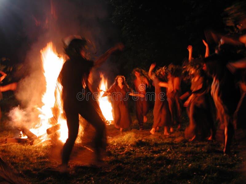 Kupala Nacht lizenzfreies stockbild