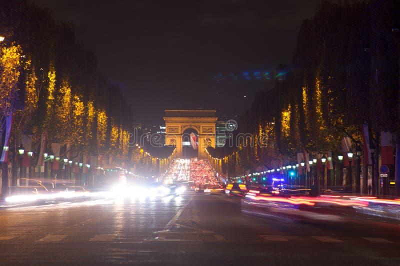 Kupczy w czempionów elysees, Paryż, Francja zdjęcia royalty free