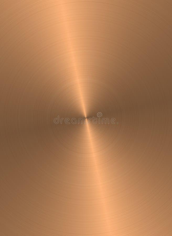 Kupferne Oberfläche lizenzfreie abbildung