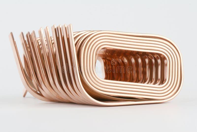 Kupferner Draht lizenzfreie stockbilder