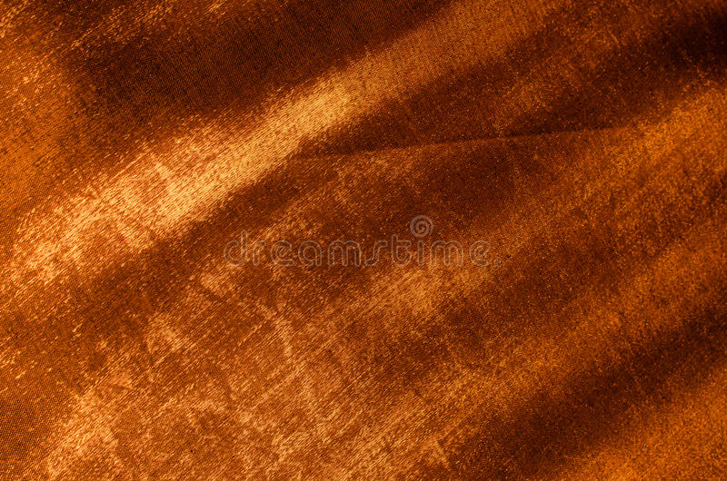 Kupfernes Seidengewebe lizenzfreie stockbilder