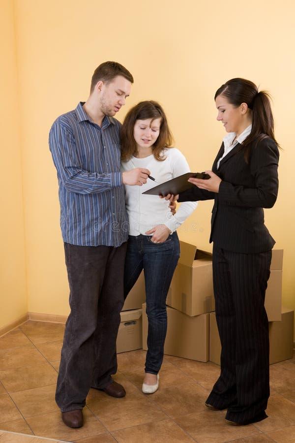 kupienia mieszkanie nowy zdjęcia royalty free
