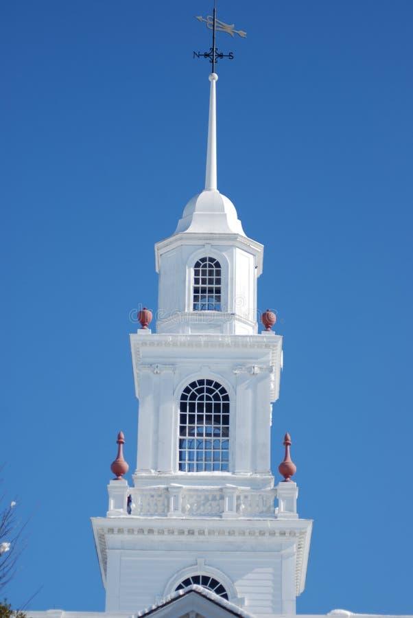 Kupol överst av lagstiftnings- Hall i Dover, Delaware royaltyfri foto