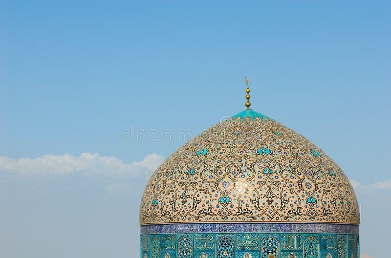 Kupol av moskén royaltyfria bilder