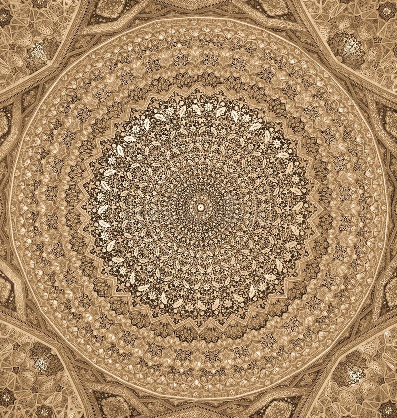 Kupol av moskén vektor illustrationer