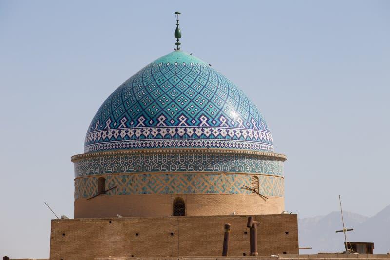 kupol för buller Rokn-od i Yazd royaltyfri foto