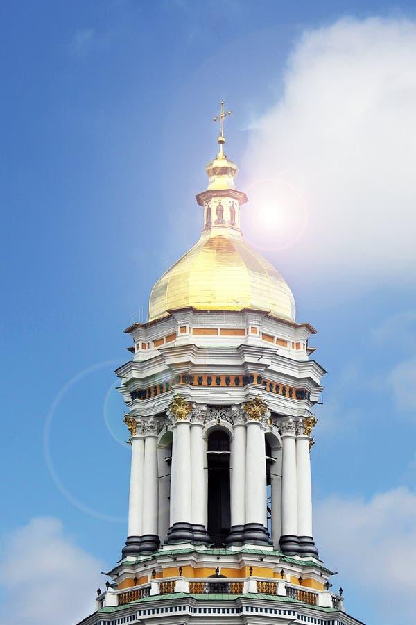 Kupoler av kyrkan Kyrka arkivbilder