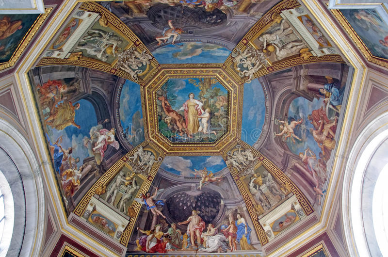 kupolmuseum vatican fotografering för bildbyråer
