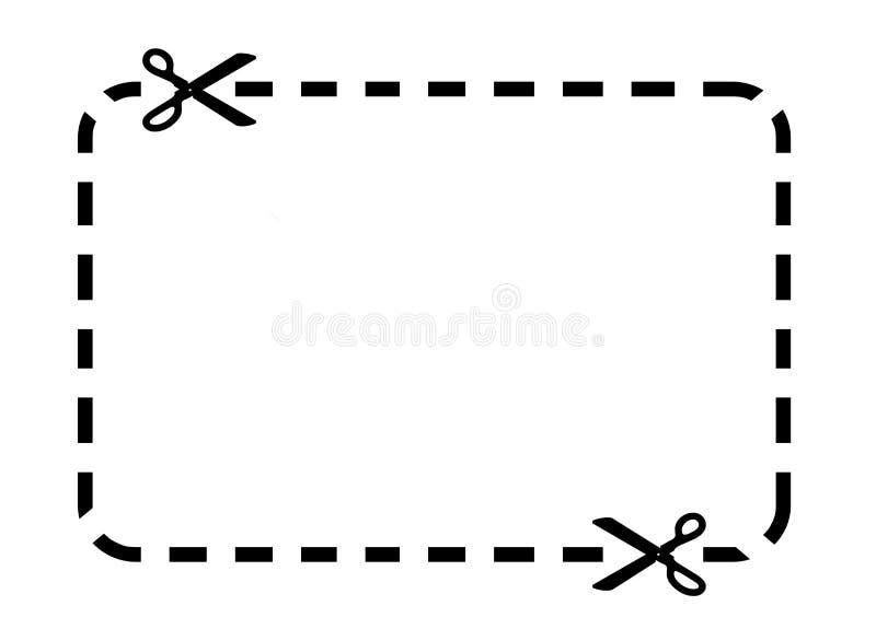 kupong vektor illustrationer