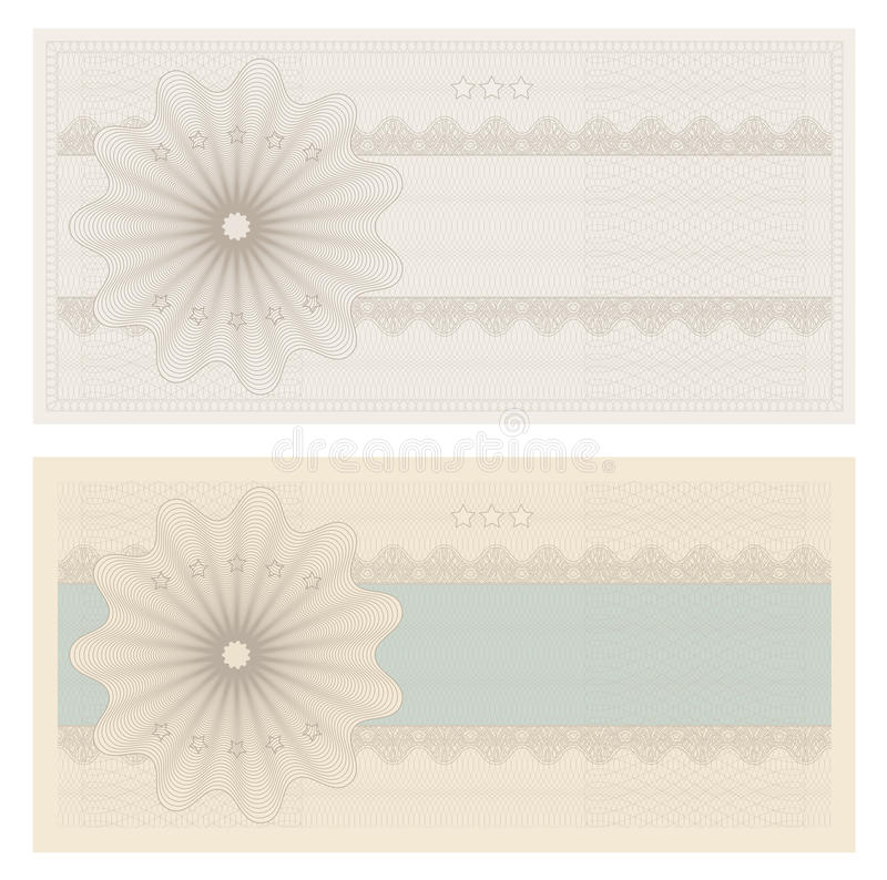 Kupong/kupong vektor illustrationer