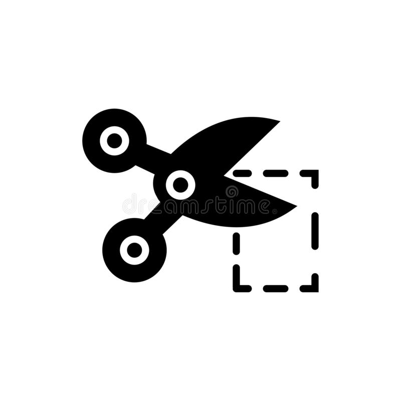 Kupongskäraresymbol vektor illustrationer