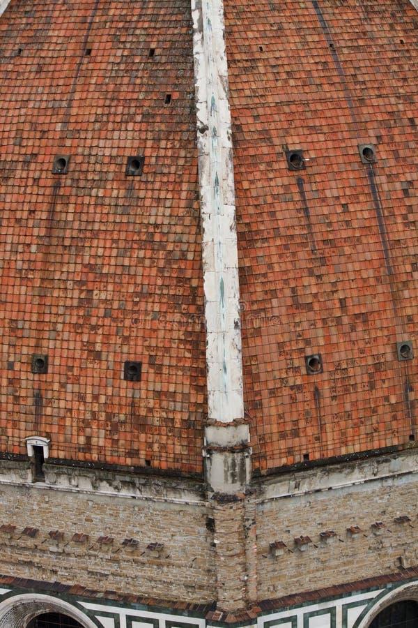 Kuppel durch Brunelleschi stockfotografie