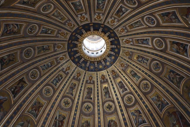 Kuppel von St Peter stockfoto