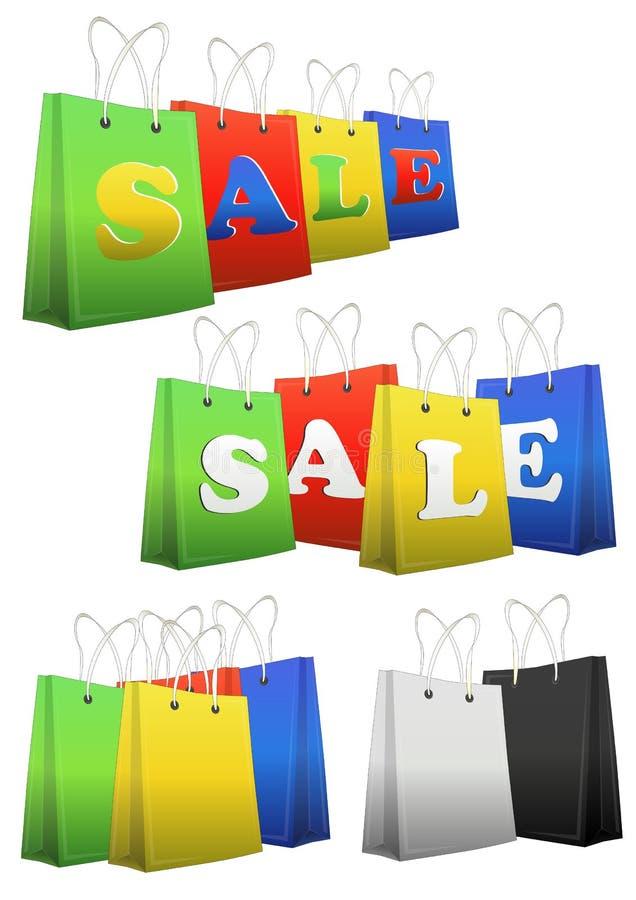 Kupujący Sprzedaż Zdjęcie Stock
