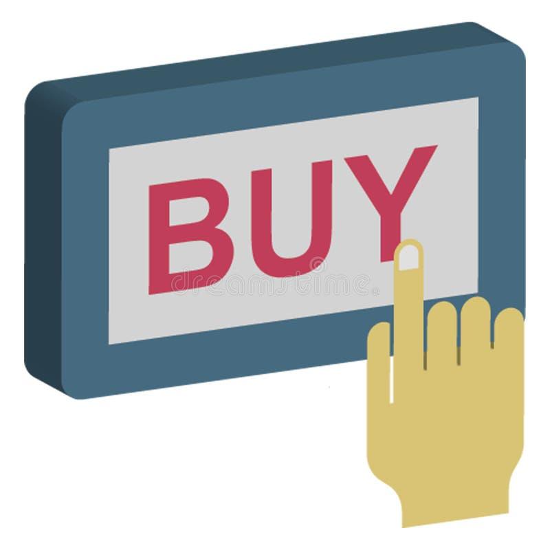 Kupuje teraz, zakup online Odizolowywająca Wektorowa ikona która może łatwo redagująca ilustracji