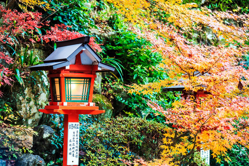 Kurama-dera stock image