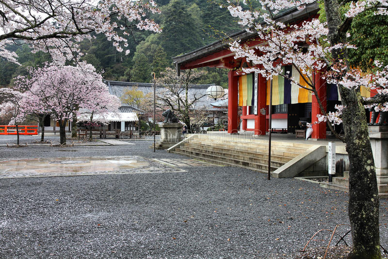 Kurama Temple, Japan stock images