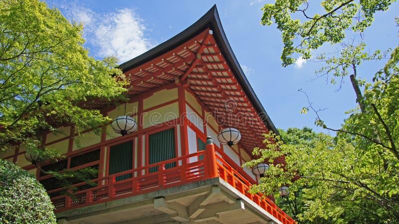 Kuramadera temple stock image