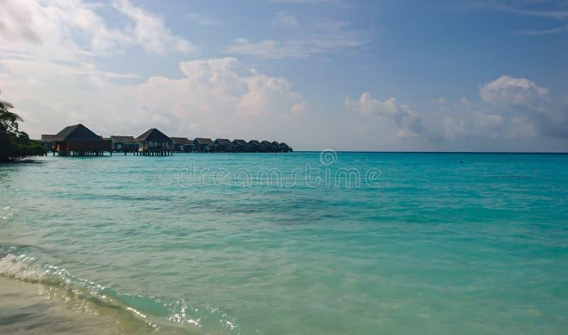 Kuramathi,马尔代夫海岛的图象 库存图片