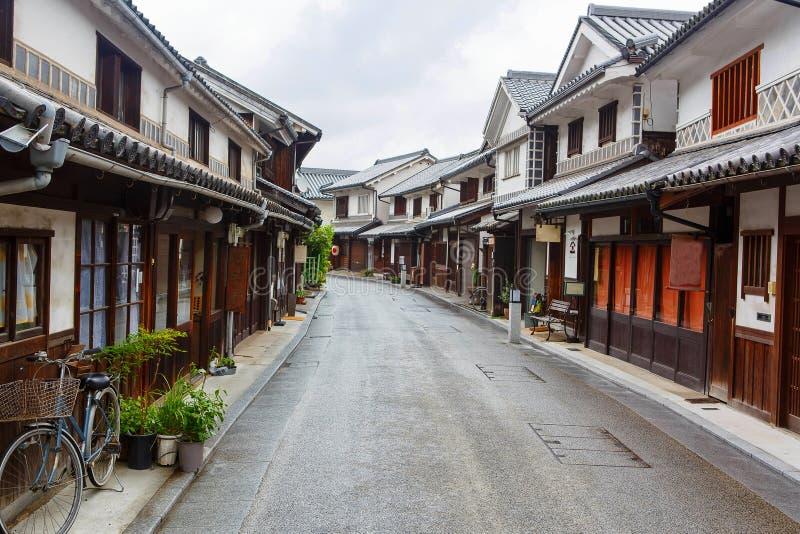 Kurashiki city, old japanese town in Okayama stock images