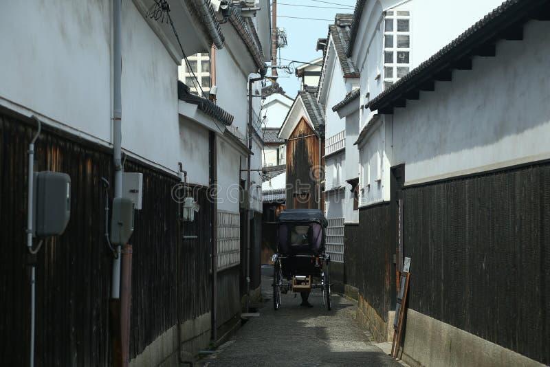 Ancient Edo-style souvenir shop at kurashiki, JAPAN. KURASHIKI, JAPAN - November 25 : Ancient Edo-style souvenir shop at kurashiki, JAPAN royalty free stock photography