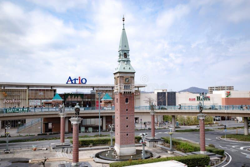 KURASHIKI, OKAYAMA, GIAPPONE – 21 MARZO 2019 fotografia stock libera da diritti