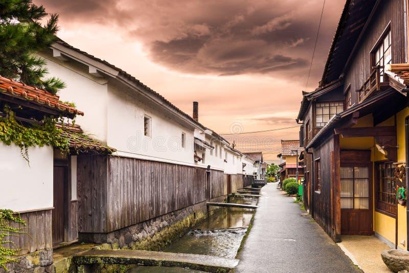 Kurayoshi Tottori, Japan royaltyfri foto