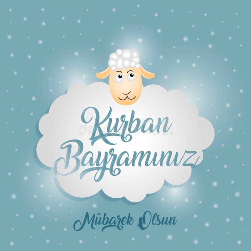 Kurban Bayrami stock abbildung
