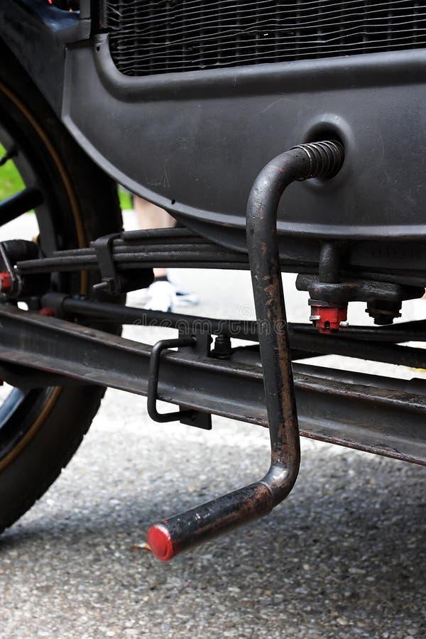Kurbel In Einem Alten Auto Stockbild Bild Von Kurve