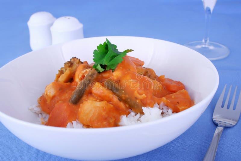 kurczak curry zdjęcia stock