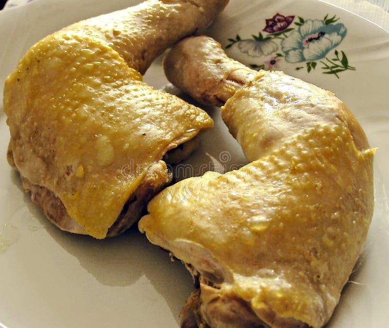 Kurczak noga zdjęcie stock