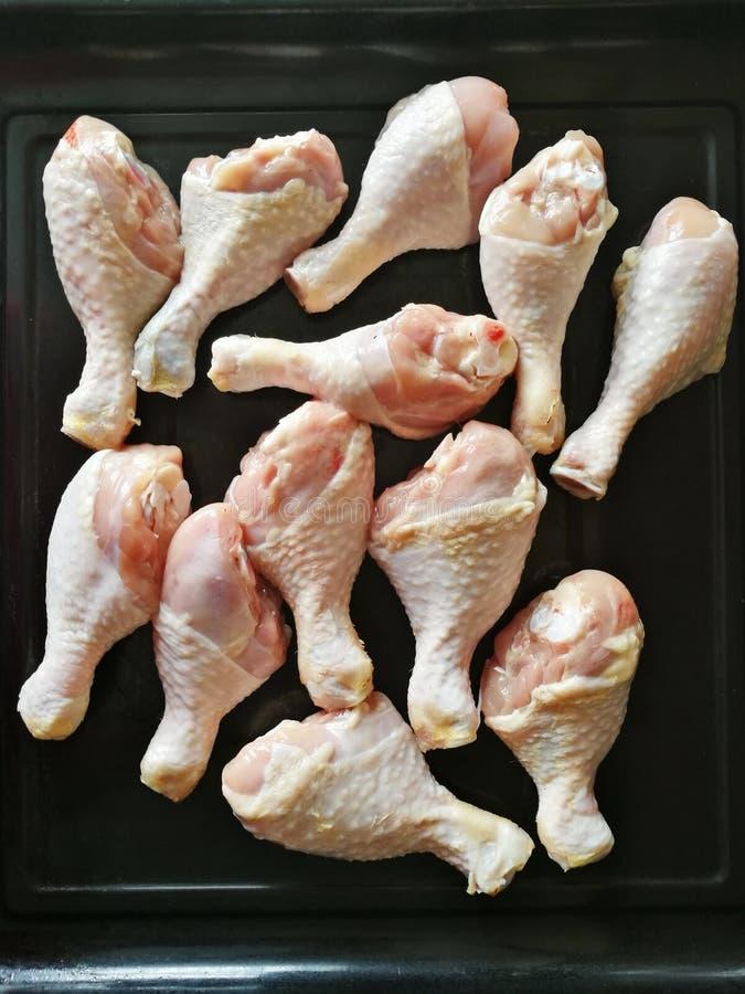 kurczak nogi surowe obraz royalty free