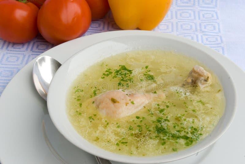 kurczak nogi zupy zdjęcia royalty free