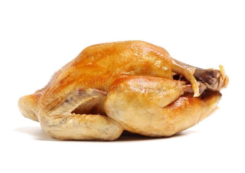 kurczak piec cały Łasowanie, smakosz zdjęcie royalty free