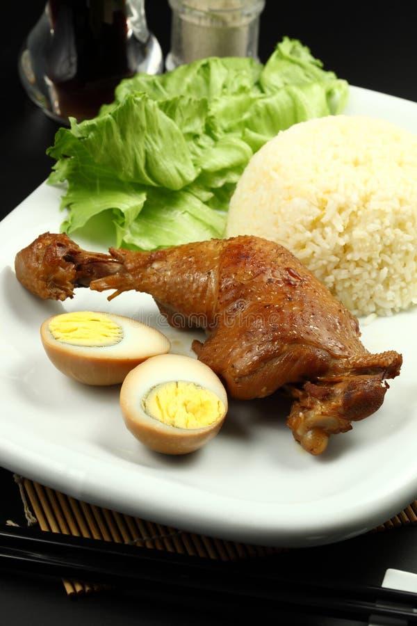 kurczak pieczeń zdjęcia stock