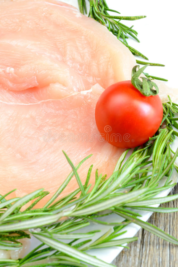 Kurczak pierś obraz stock