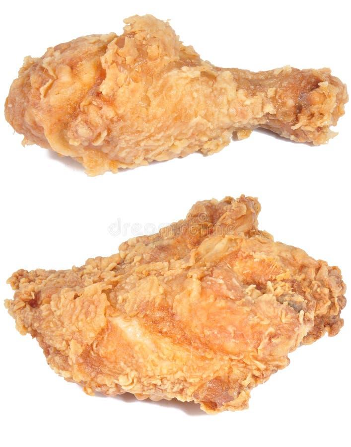 kurczak smażył obraz royalty free