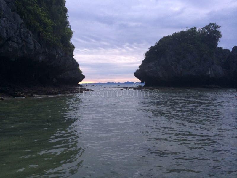 Kurczak wyspa, Krabi, zdjęcie stock