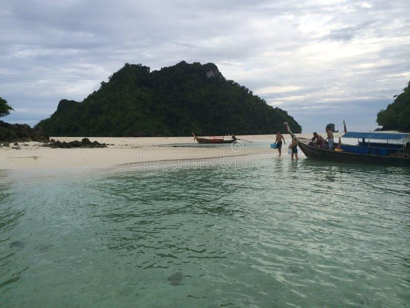 Kurczak wyspa, Krabi, obrazy stock