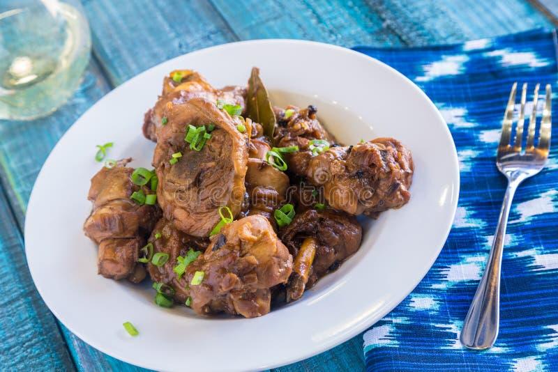 Kurczaka Adobo obraz stock