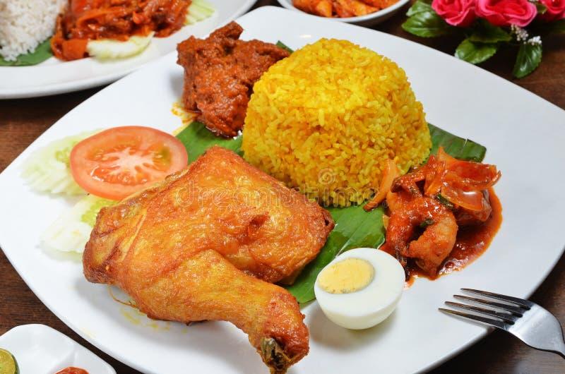 Kurczaka biryani ryż obraz stock