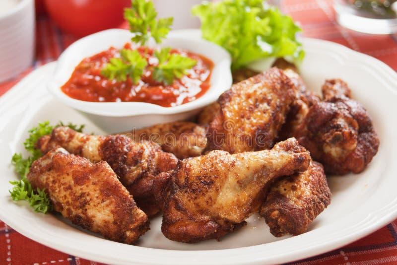 kurczaka chili kumberlandu skrzydła fotografia royalty free